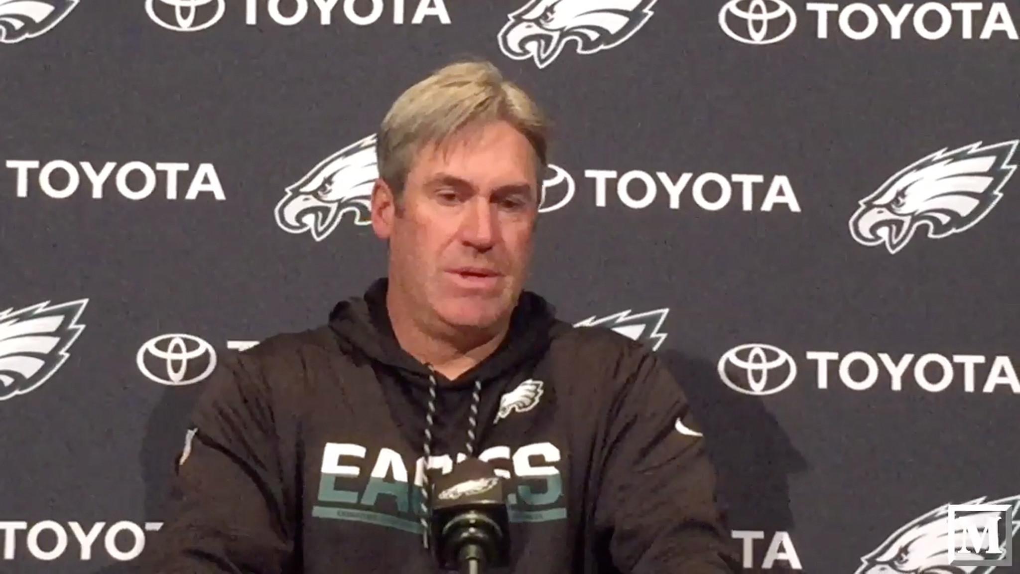 Eagles coach Doug Pederson says team can help QB Carson ...
