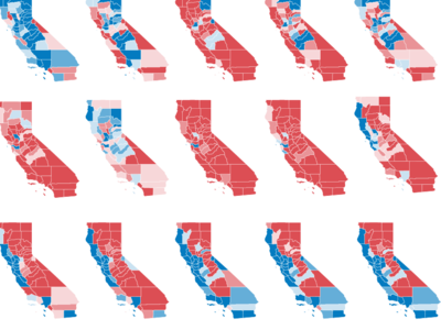 California Neighborhood Election Results Did Your Precinct Vote - 2016 election precincts us map