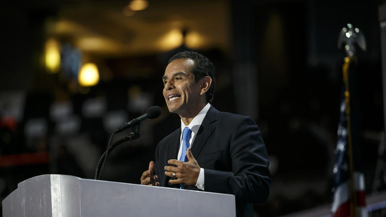 Antonio Villaraigosa in July (Marcus Yam / Los Angeles Times)