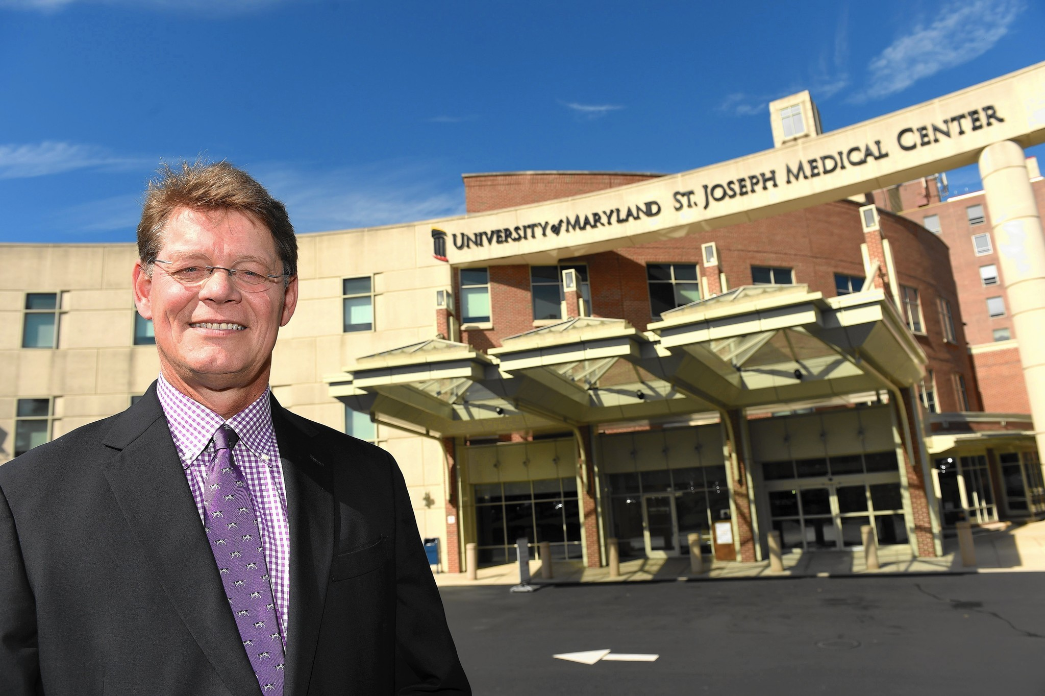 university of maryland st  joseph medical center u0026 39 s new president knows the hospital intimately