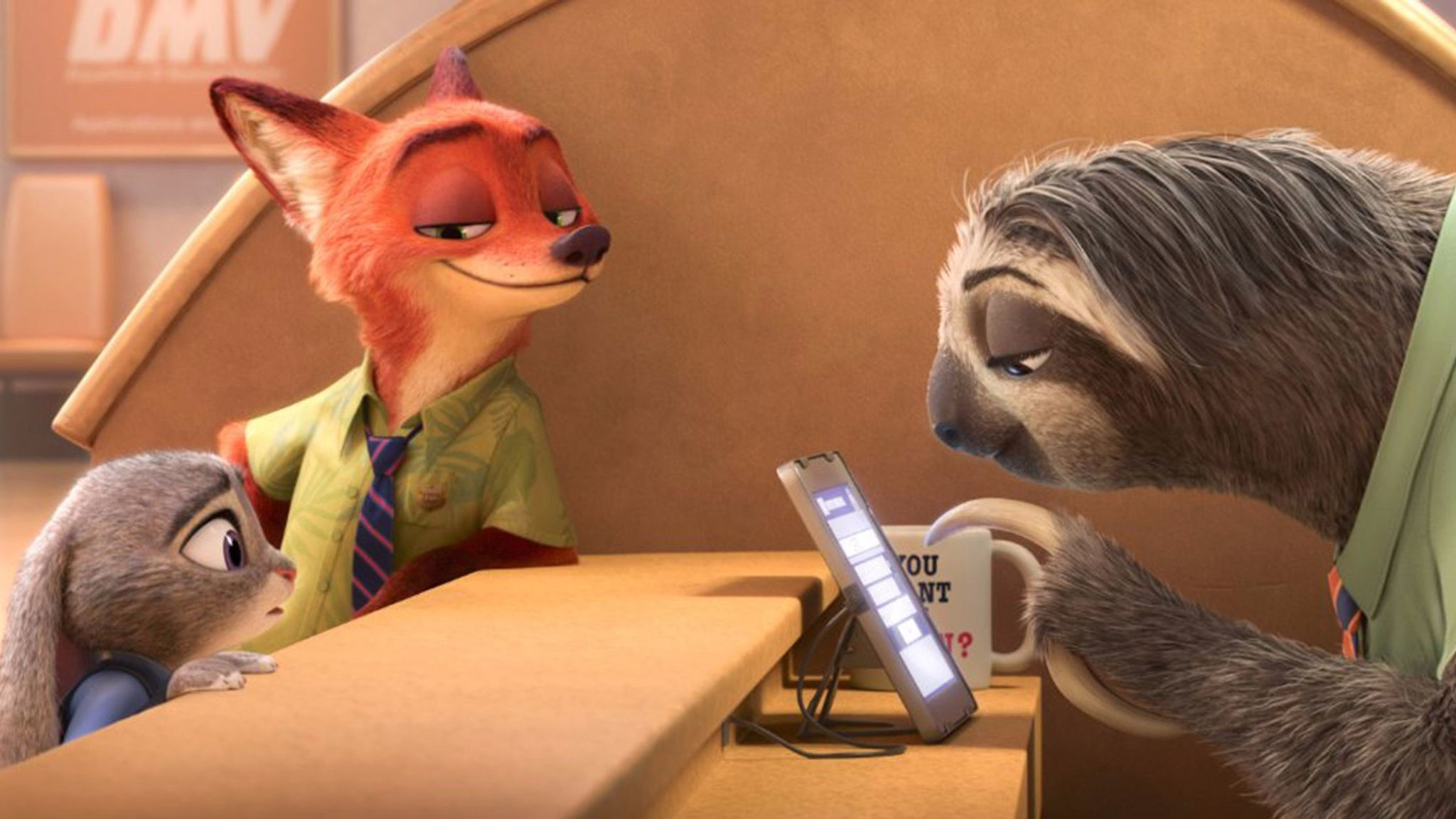 """A scene from """"Zootopia."""""""