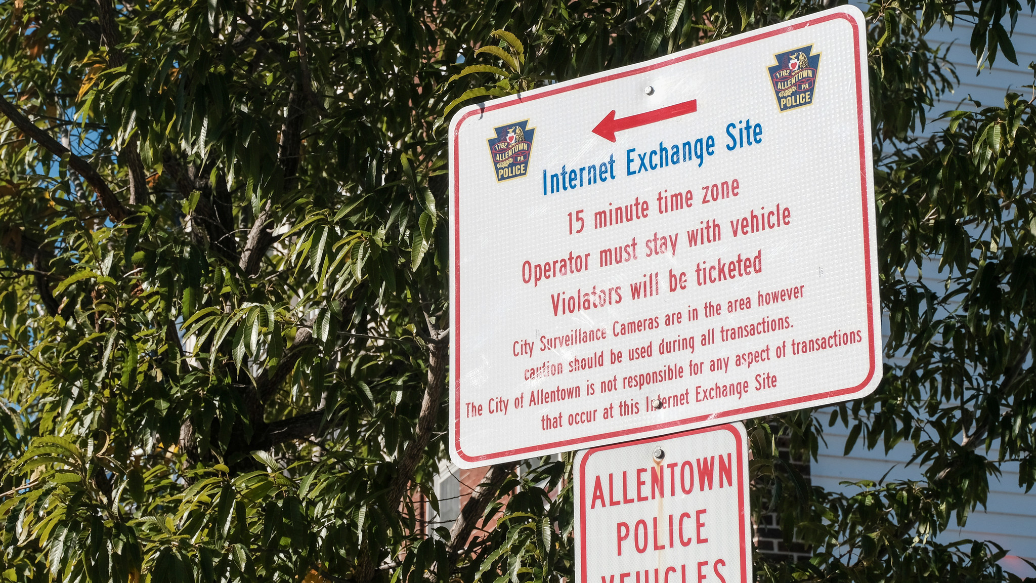 Allentown police unveil safe zone for online sales - The ...