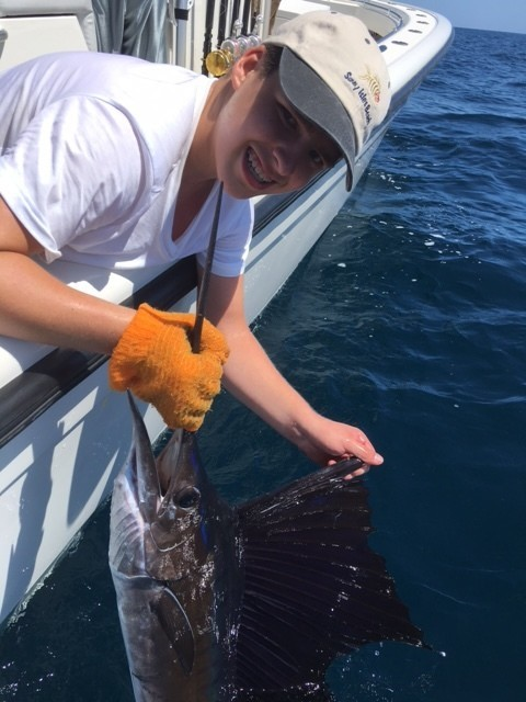 South florida fishing report sailfish biting off miami for Southeast florida fishing report