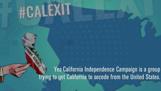 Should California leave the Union?