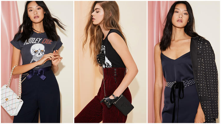 Items from Nasty Gal's capsule collection of designer vintage.