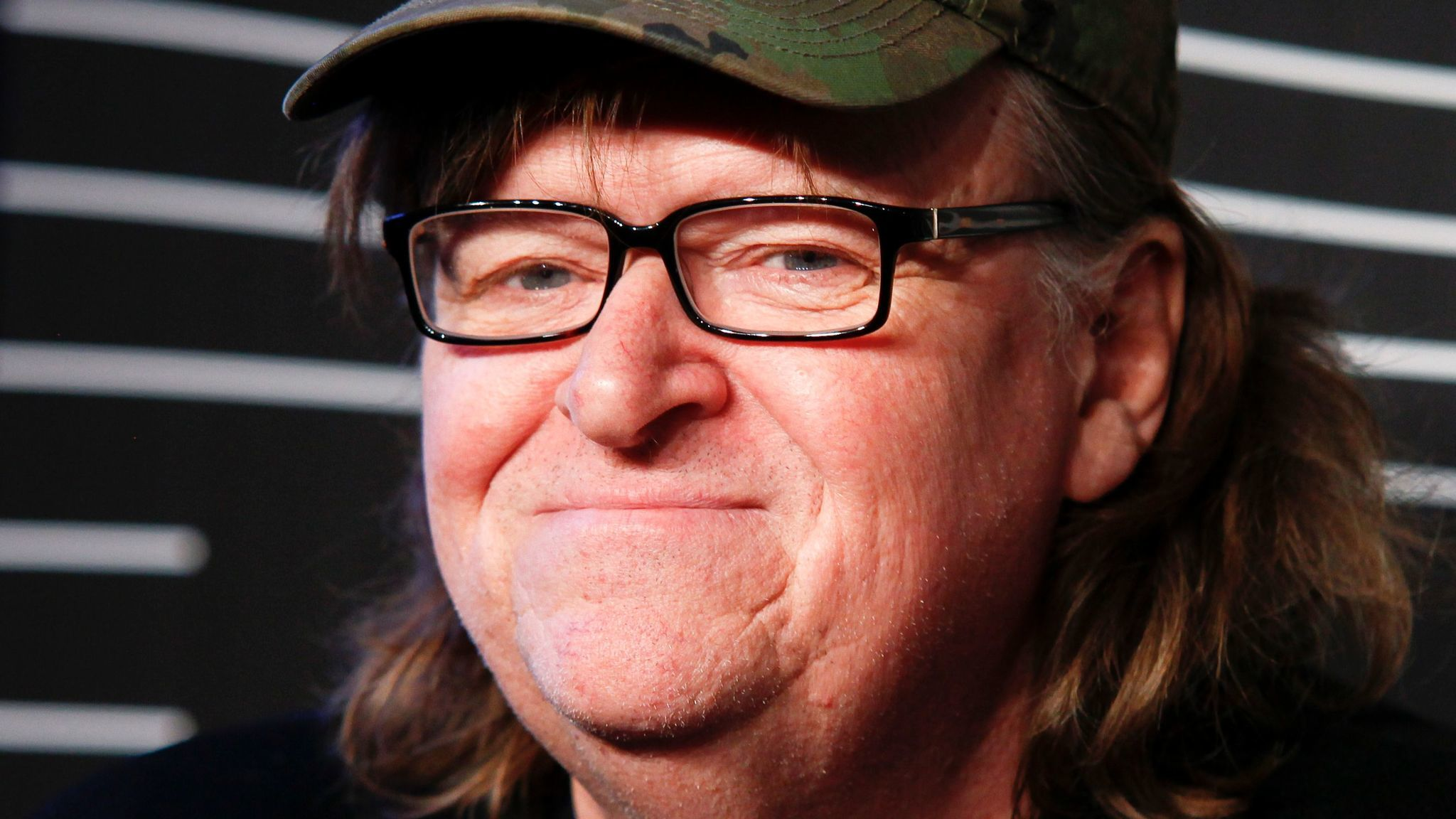 Documentarian Michael Moore is working on a secret anti-Trump movie. (Andy Kropa / Invision)