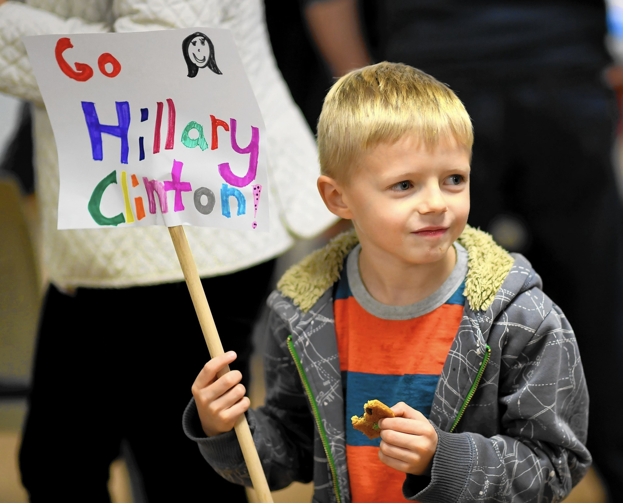 Unofficial Totals Show Hillary Clinton Won Hometown Park