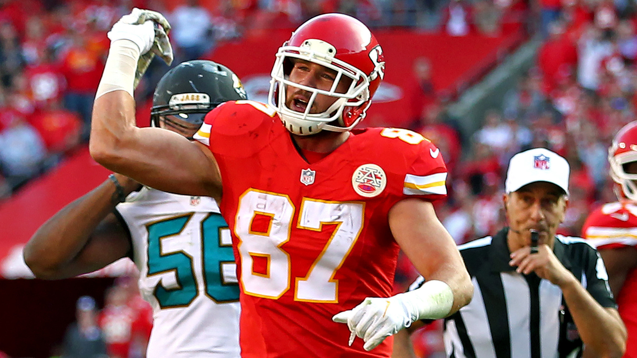 Chiefs Travis Kelce fined $24 309 by the NFL for throwing towel