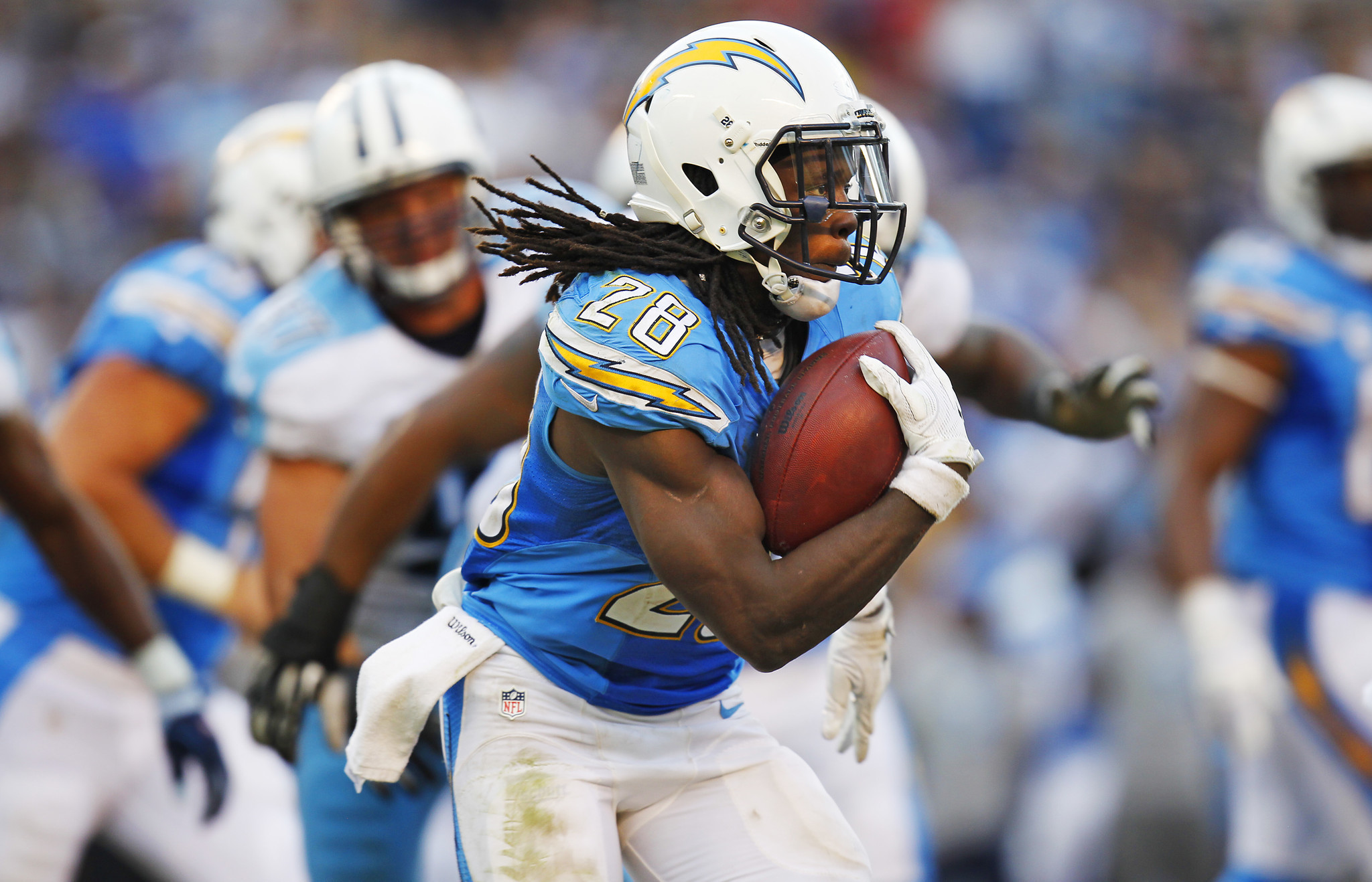 Melvin Gordon Tastes Success Still Hungry The San Diego