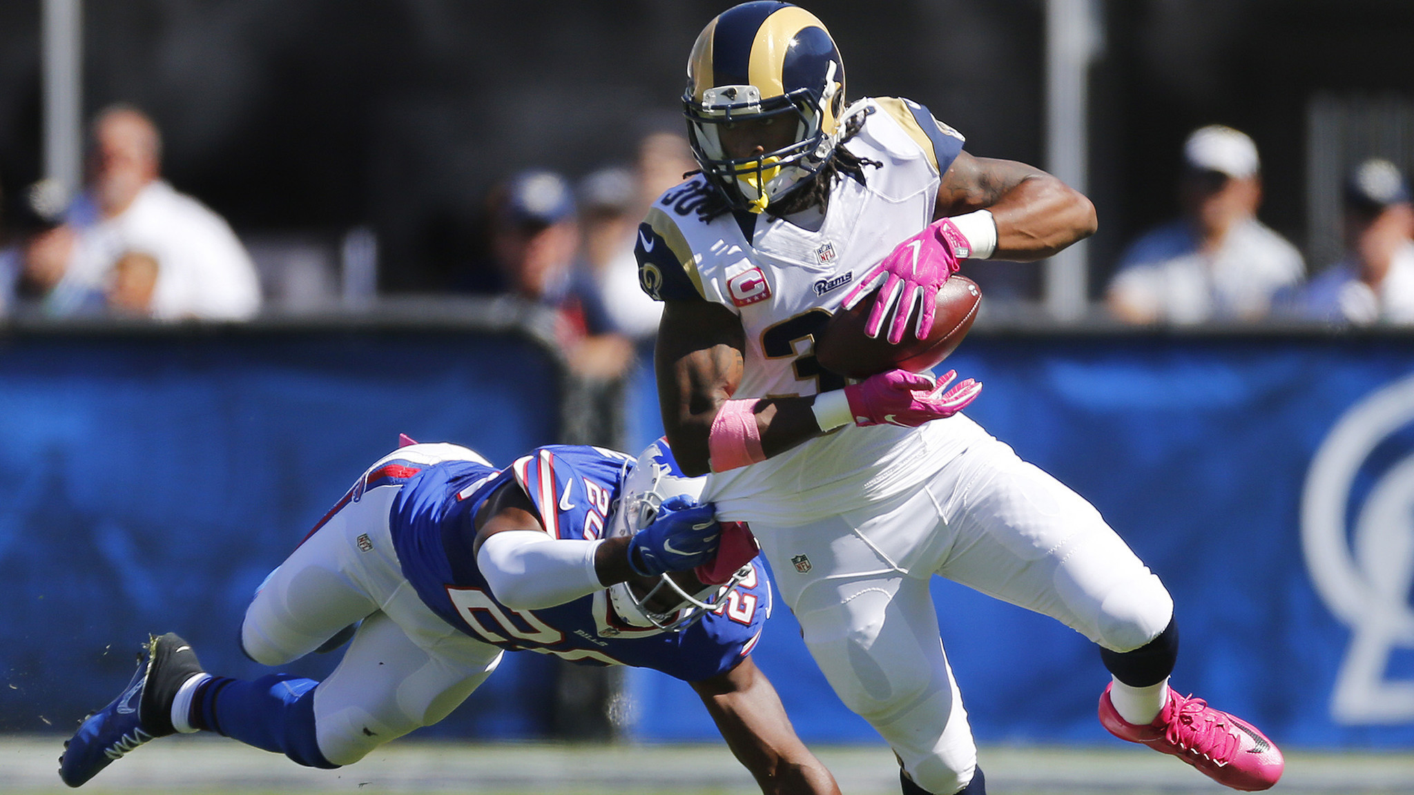 Rams Todd Gurley is staying patient but has little to show for it