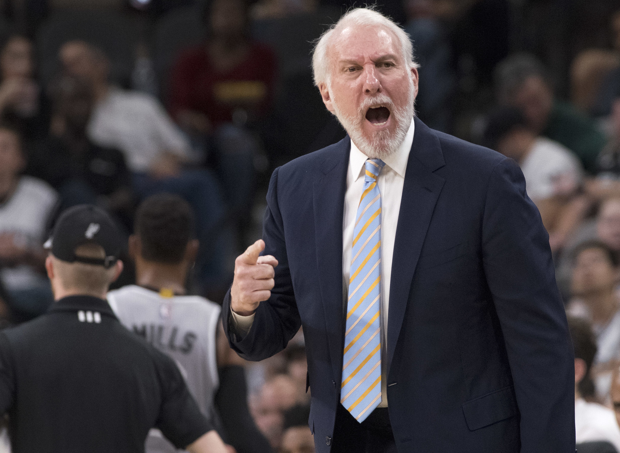Gregg Popovich Air Force