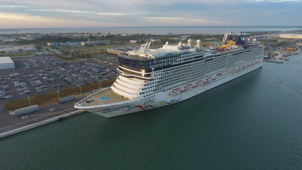 Norwegian Epic Makes Port Canaveral Debut Orlando Sentinel - Where is port canaveral