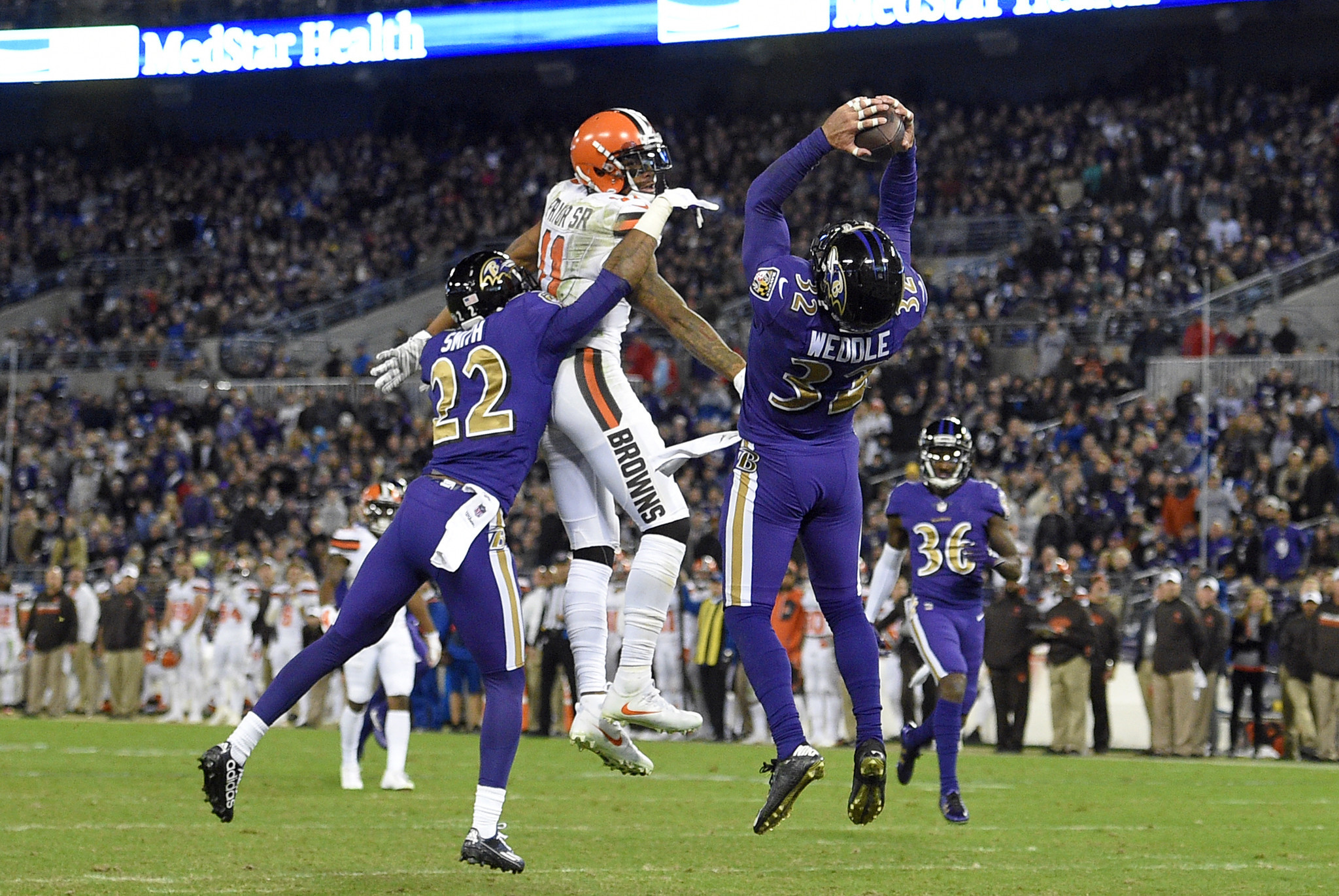 Ravens Eric Weddle and Jerraud Powers redeemed themselves in win