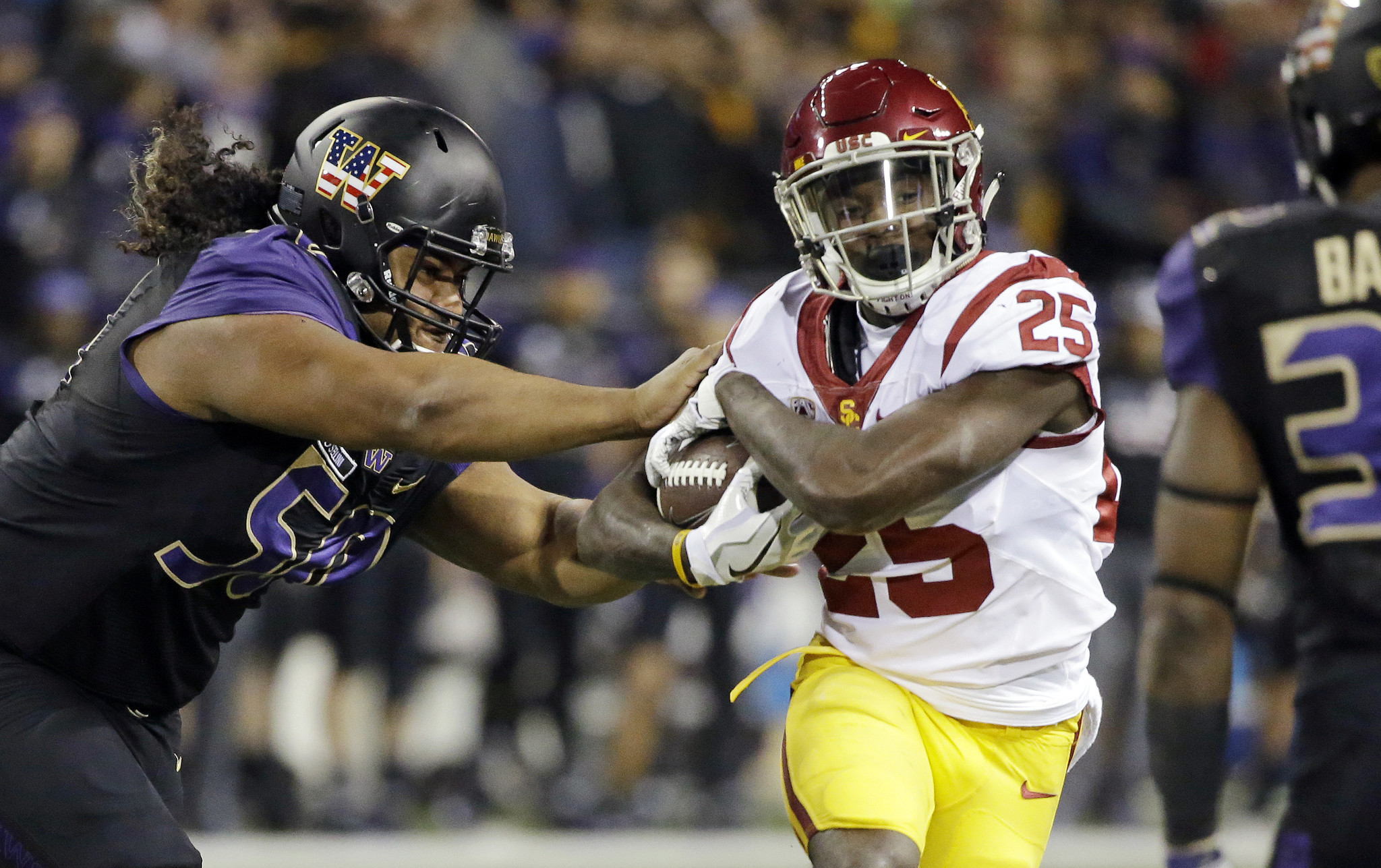 No 20 Usc Plays The Spoiler Upsets No 4 Washington 26 13 Sun Sentinel