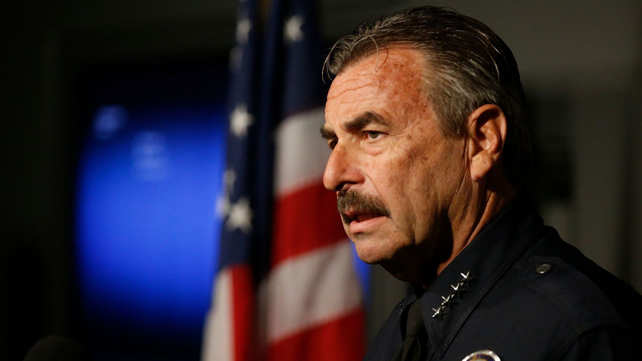 LA 90: LAPD will not help deport immigrants under Trump, chief says