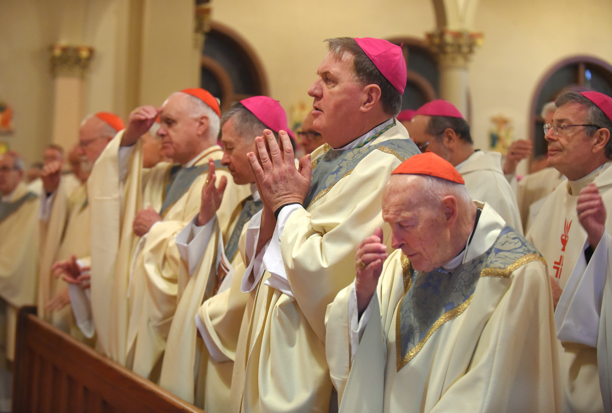 catholic bishops  meeting in baltimore  congratulate trump