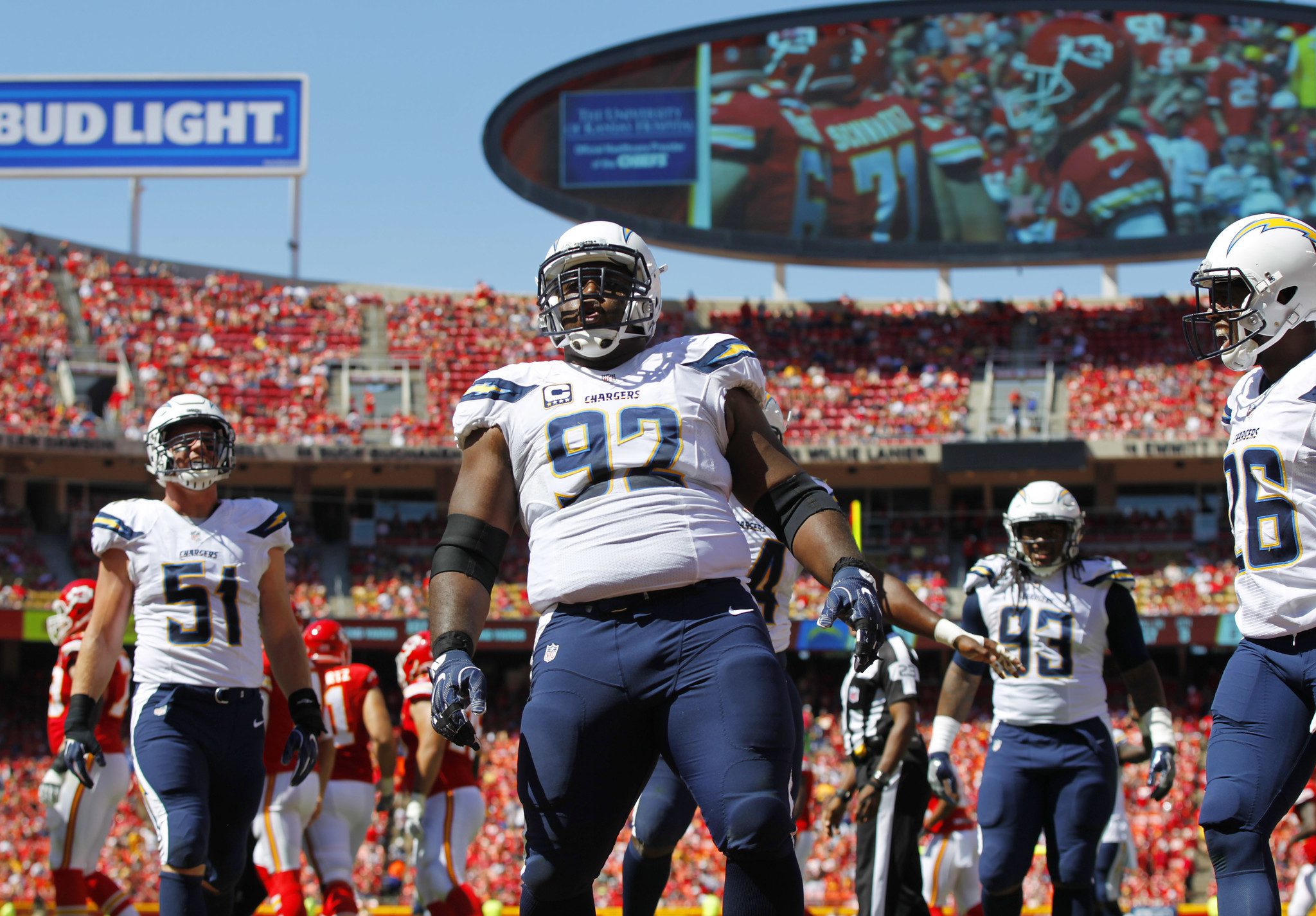 Another One Chargers Lose Mebane For Season The San