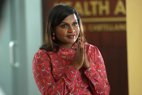"Mindy Kaling as Mindy Lahiri in an episode of ""The Mindy Project."" (Jordin Althaus / NBC)"