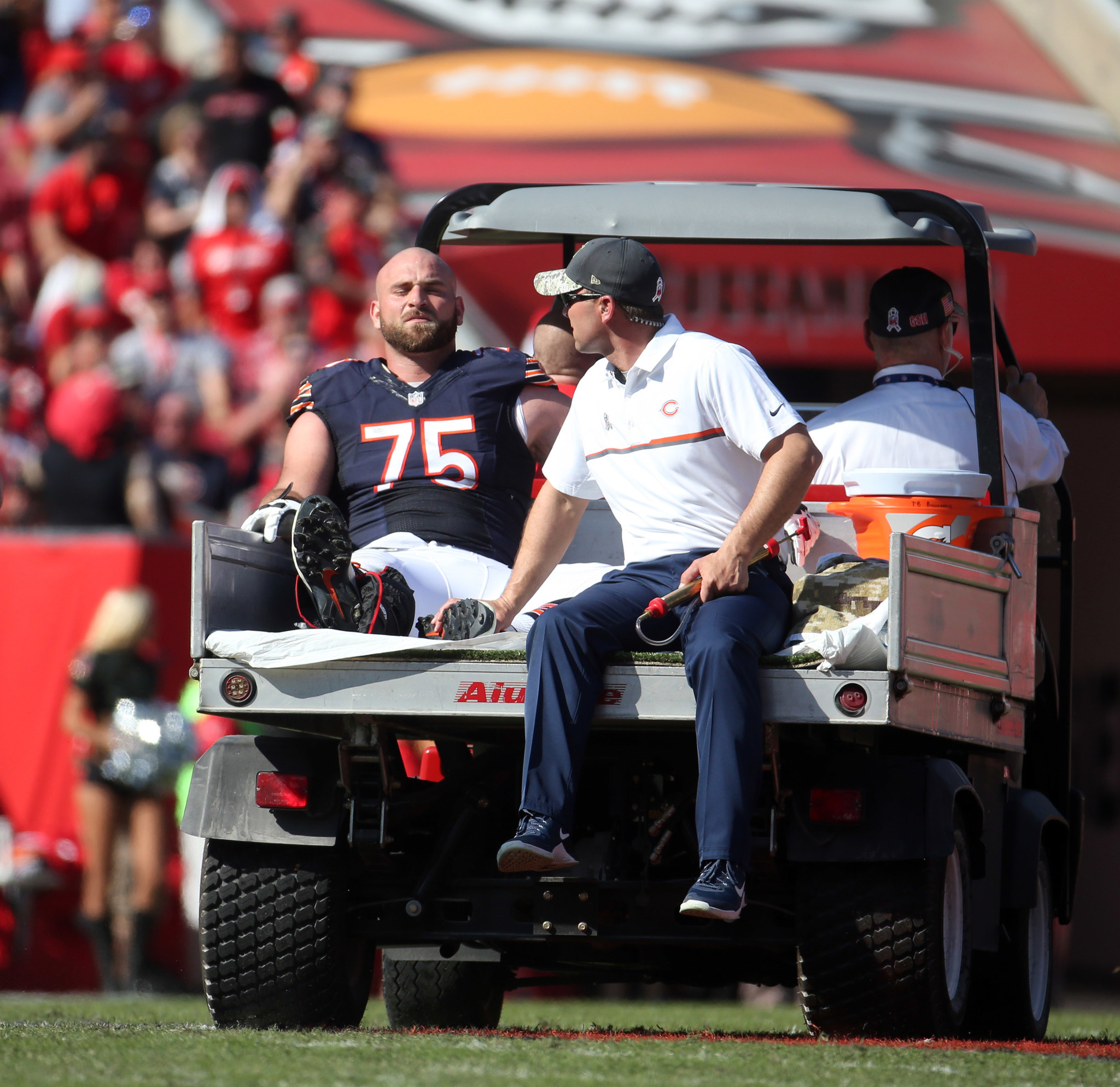 Kyle Long moved to injured reserve as Bears misfortune continues