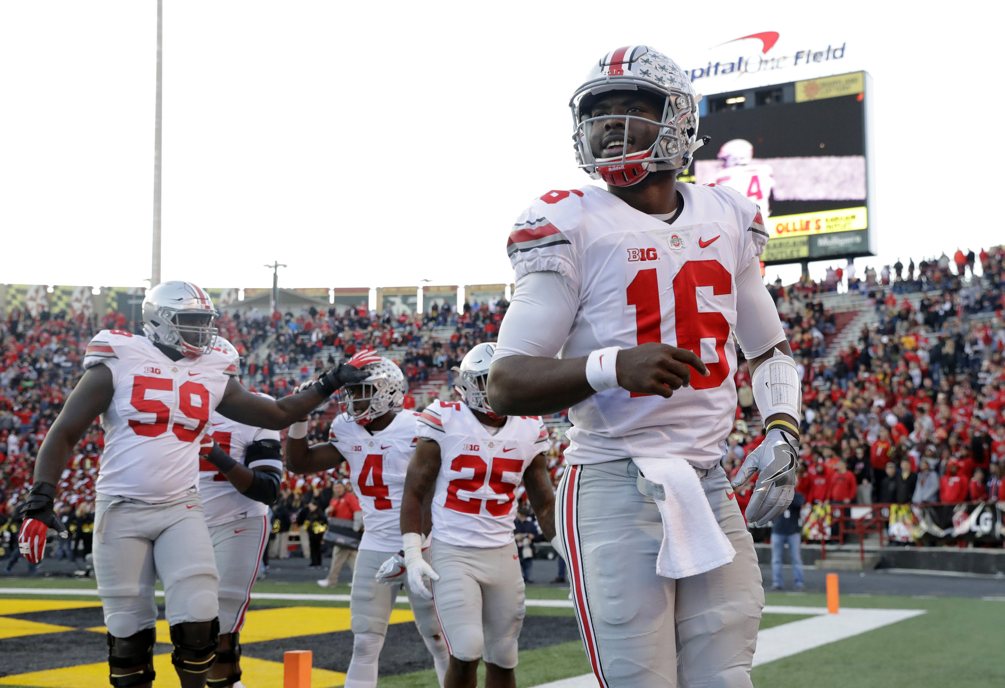 ohio state football odds college football playoff projections