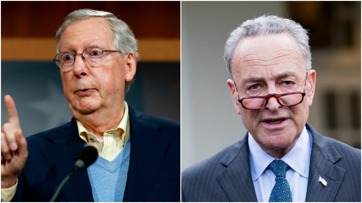 McConnell will still lead Senate GOP, Schumer new leader of Democrats