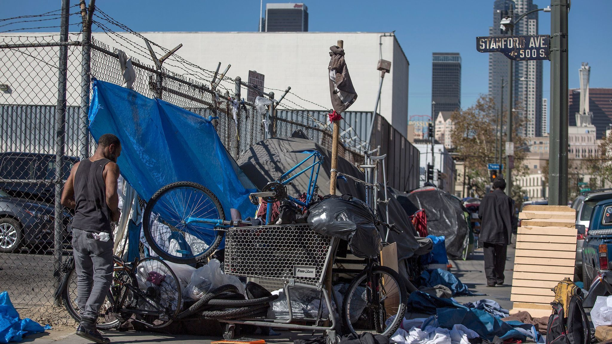 LA Has The Most Chronically Homeless People Again LA Times - Chronic homelessness across the us map