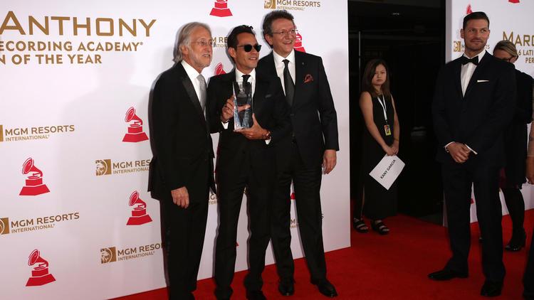 Alfombra Roja De La Persona Del Año 2016 De La Academia Latina De Grabación En Honor A Marc Anthony