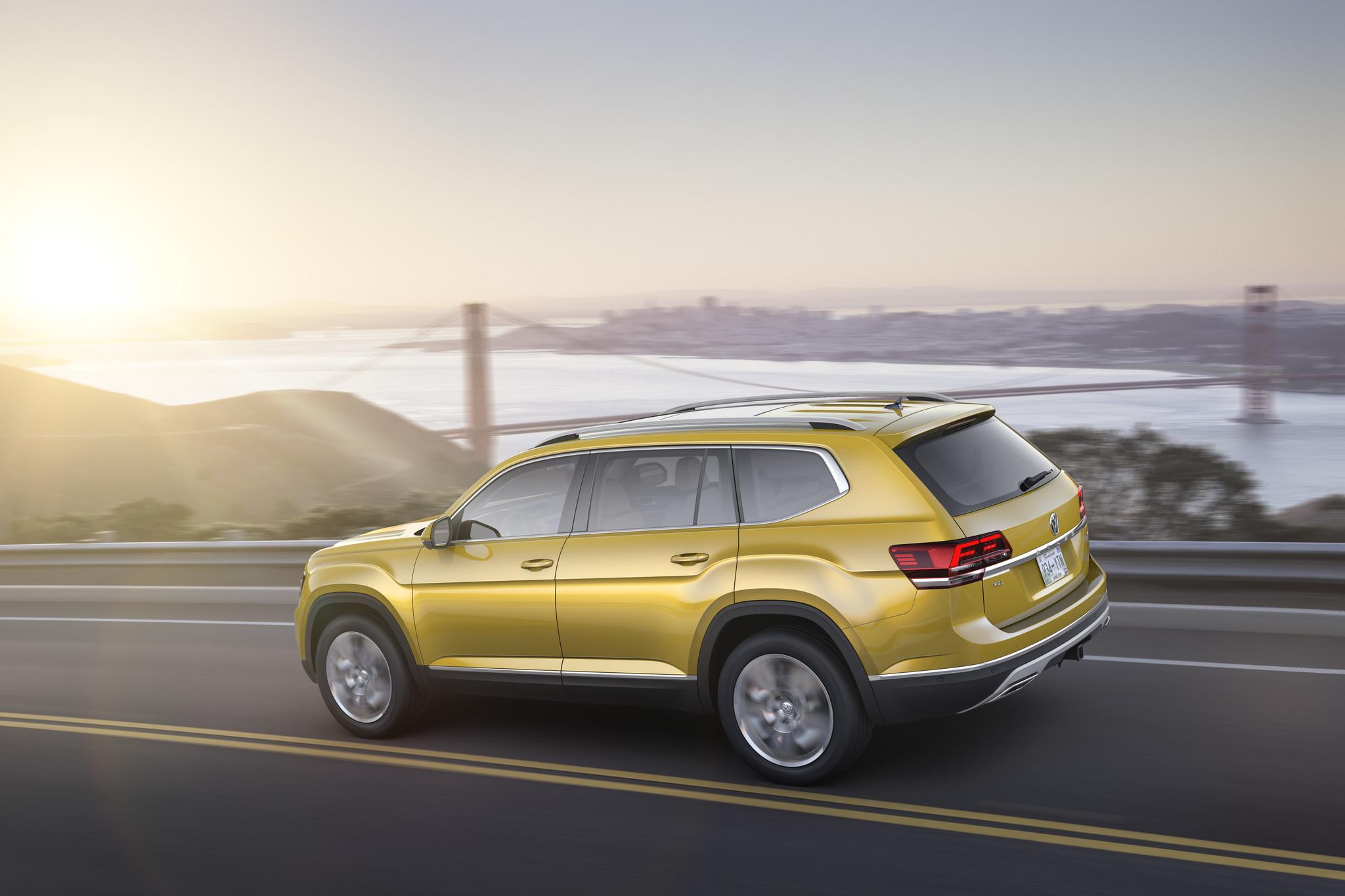 L A Auto Show 2016 Volkswagen Atlas La Times