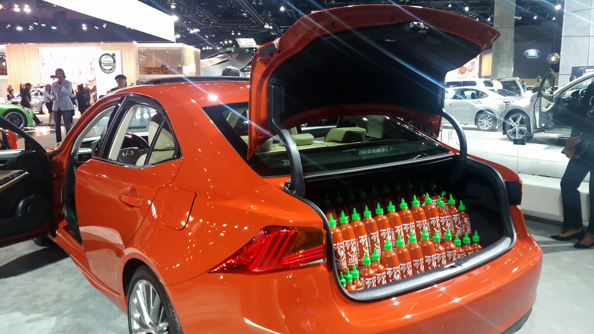 Lexus Has The Hottest Car Of The L A Auto Show The Sriracha Is