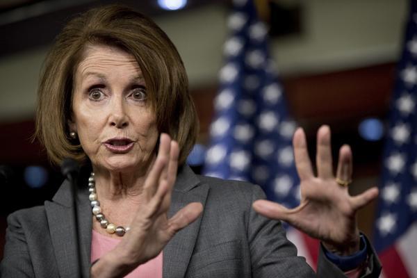 House Minority Leader Nancy Pelosi (Andrew Harnik/Associated Press)