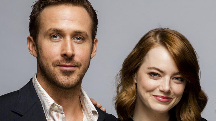 """La La Land"" stars Ryan Gosling and Emma Stone at the 41st Toronto International Film Festival in September. (Jay L. Clendenin / Los Angeles Times)"