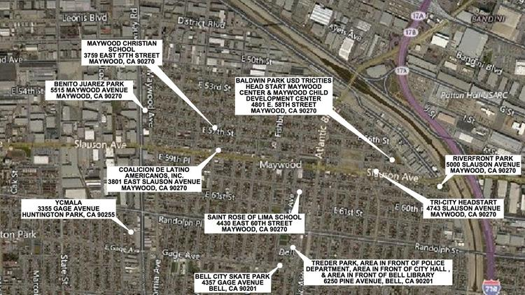 Regulators plan to test soil for lead contamination at several locations south of the former Exide Technologies plant.