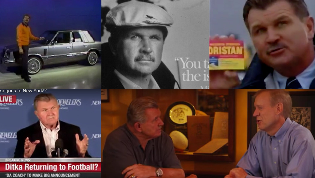 Mike ditkas 30 years as a paid pitchman chicago tribune aloadofball Choice Image