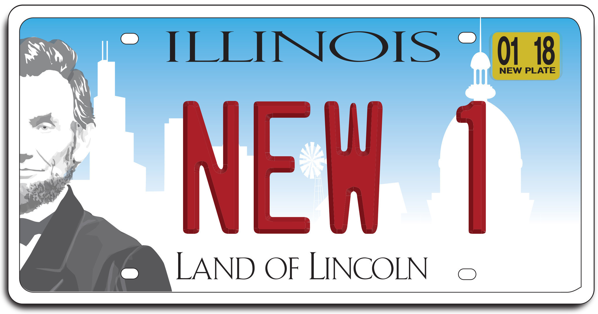 new car plate releaseNew Illinois license plate is busy and banal  Chicago Tribune