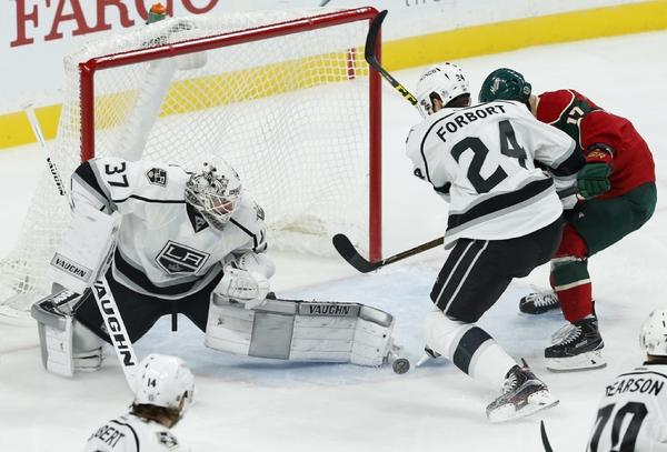 Kings' Goalie Situation Is Set, But Feelings Mixed