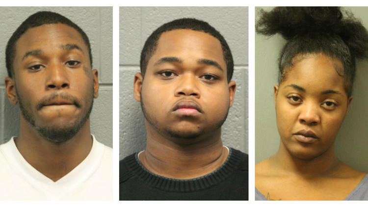 4 charged in beating caught on video