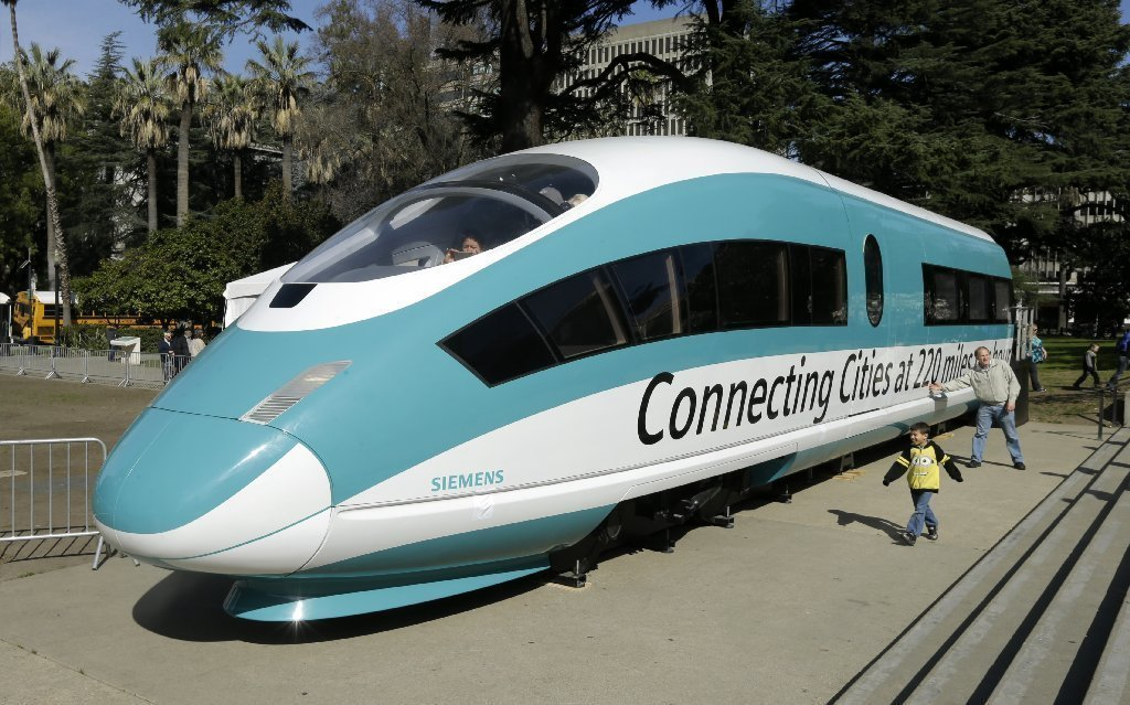 Californias Bullet Train Authority Decides To Buy American After - Bullet train locations us map