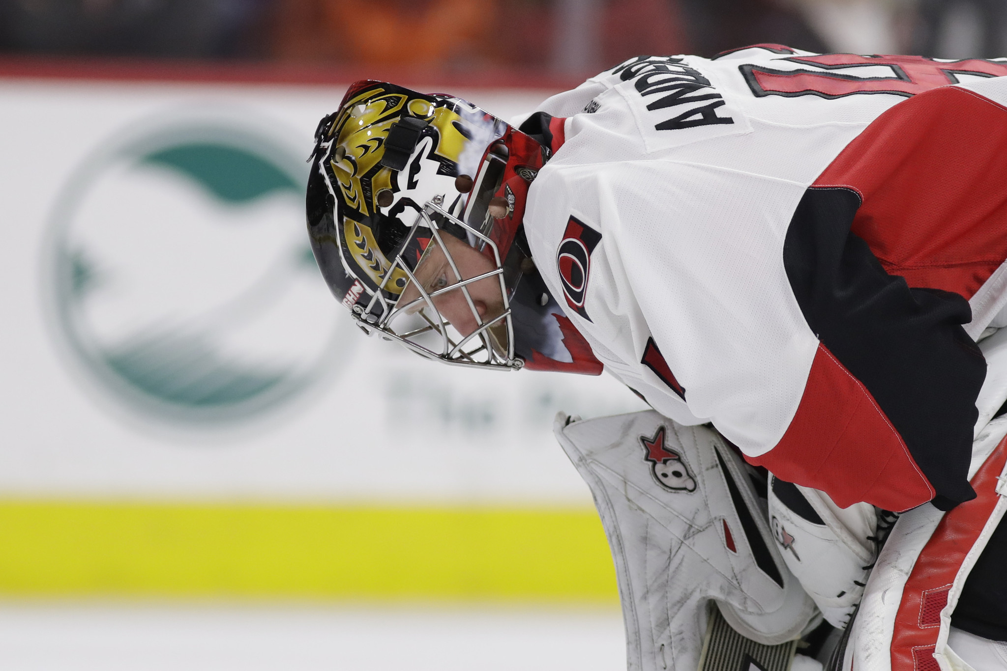 Sfl-senators-goalie-anderson-displaying-courage-on-and-off-ice-20161119