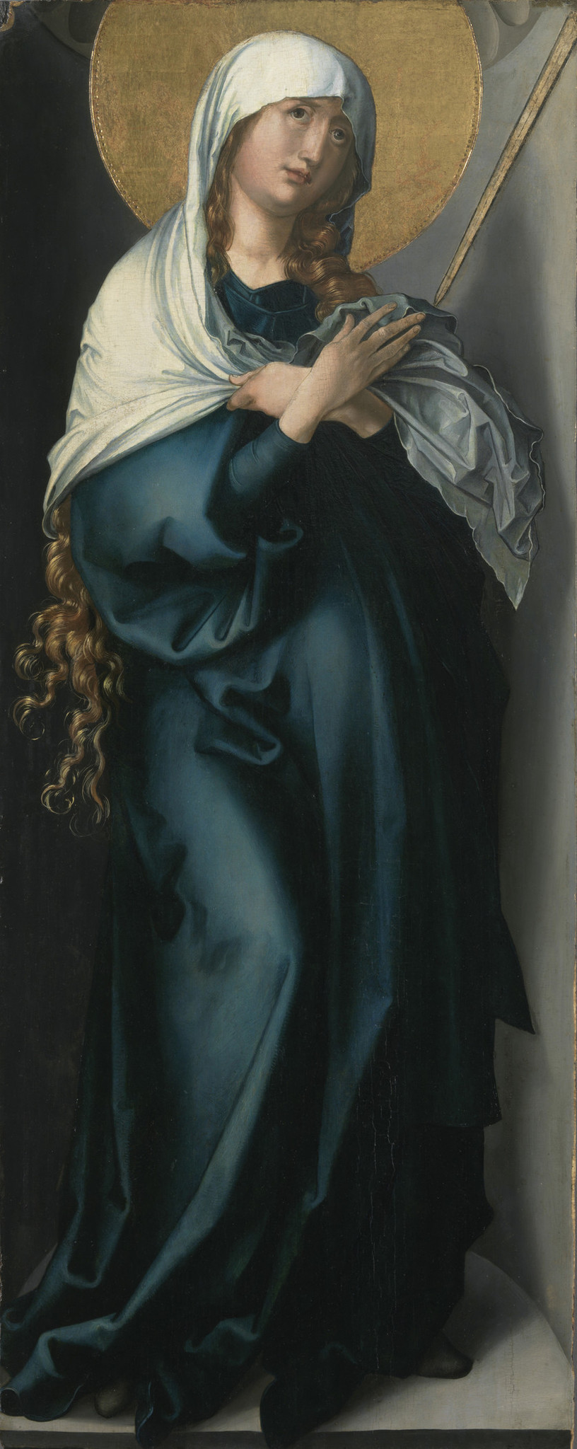 "Albrecht Durer, ""The Virgin as Mother of Sorrows,"" circa 1495-98."