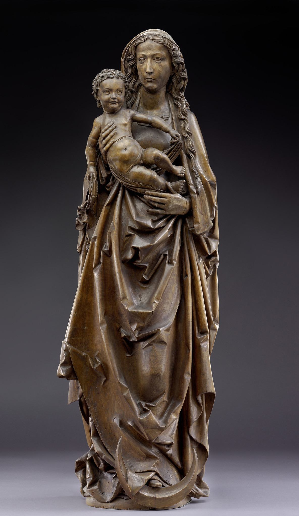"Tilman Riemenschneider, ""Standing Virgin and Child,"" circa 1520."