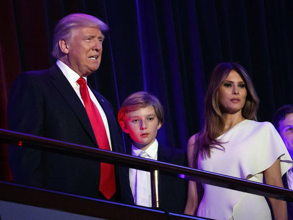 Melania and Barron Trump won't move to White House until later in 2017