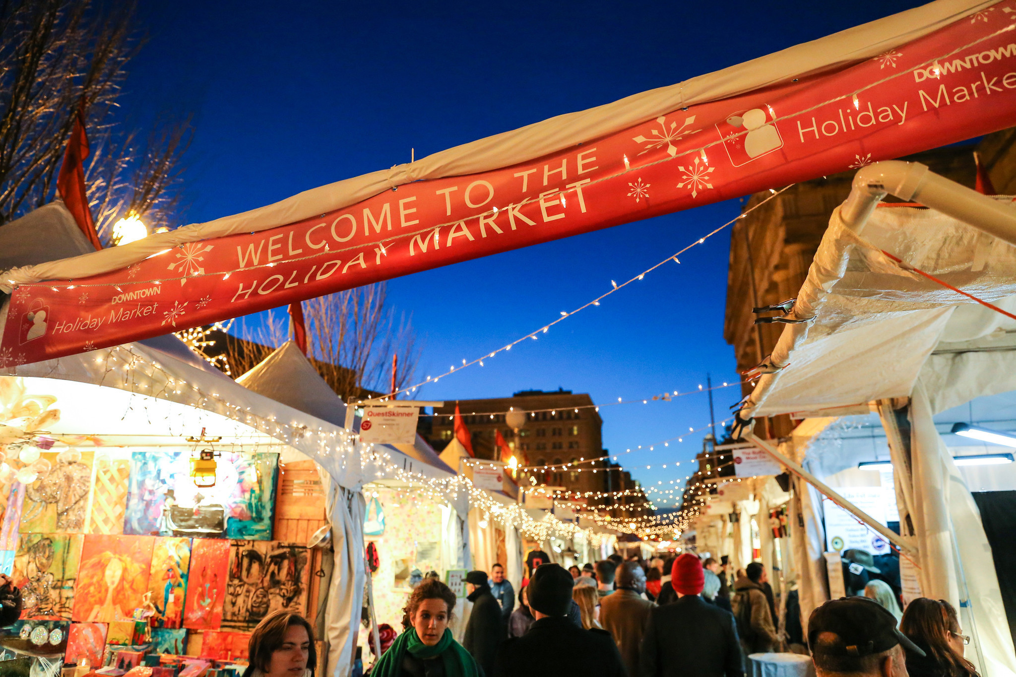 christkindls other holiday markets on east coast work old world magic baltimore sun - Christmas Market Dc