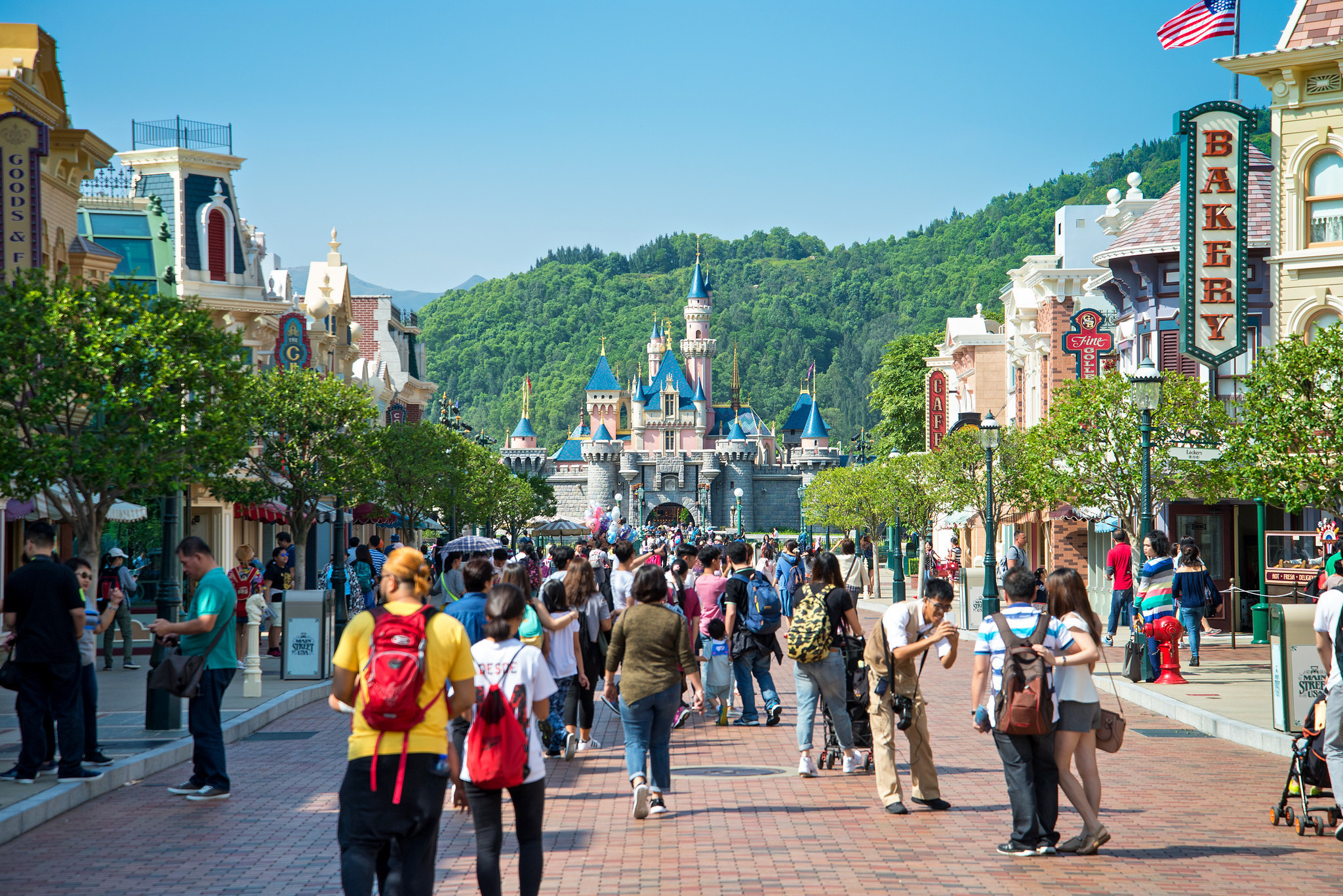 hong kong s disneyland An expansion of the sleeping beauty castle and a 'frozen'-themed land will be coming to the theme park, which is currently the smallest of disney's parks.