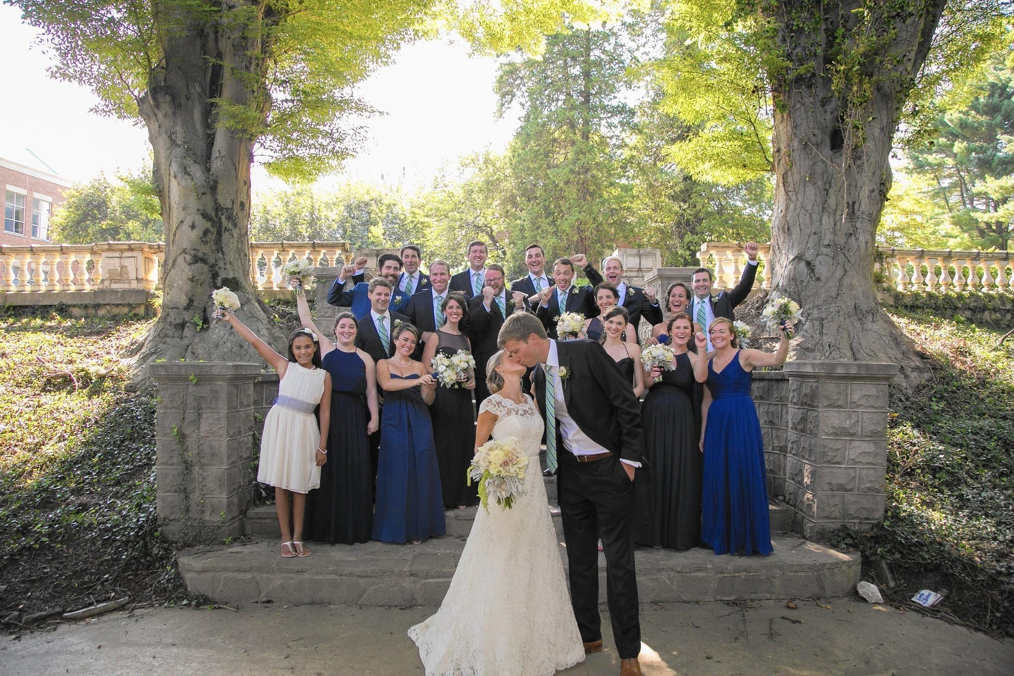 Wedded Meriel Colglazier And Garrett Wilson Met On An