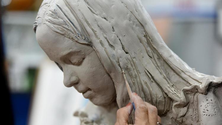Nilda Comas' sculpture