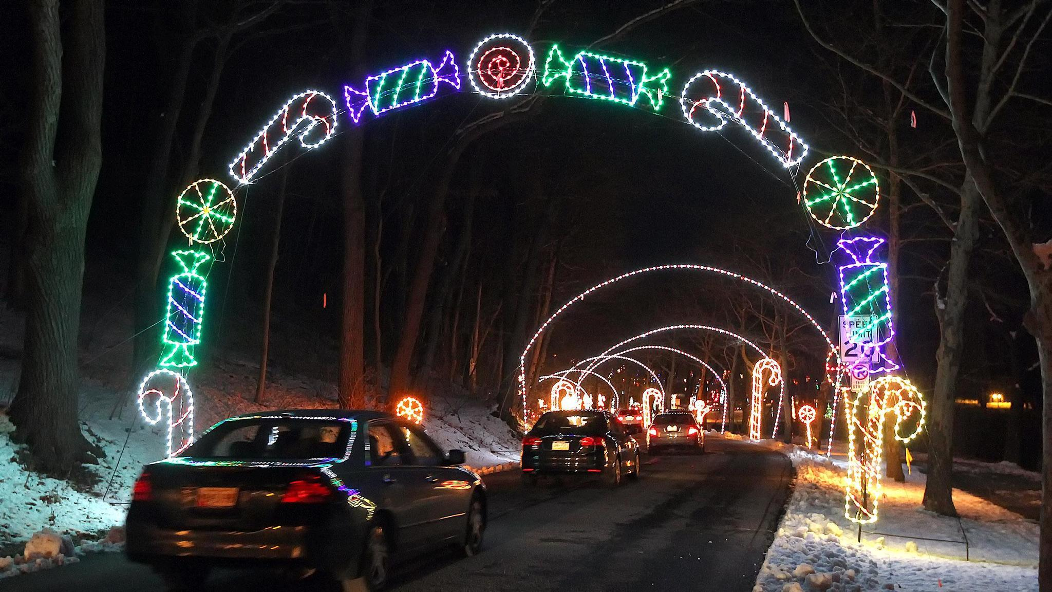lights in the parkway come back on in allentown
