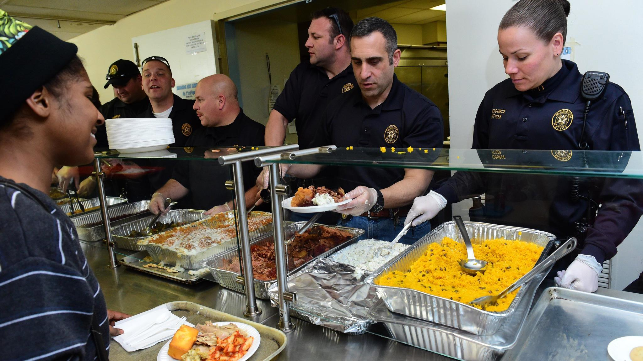 Full Bellies And Warm Thoughts At Holiday Soup Kitchens
