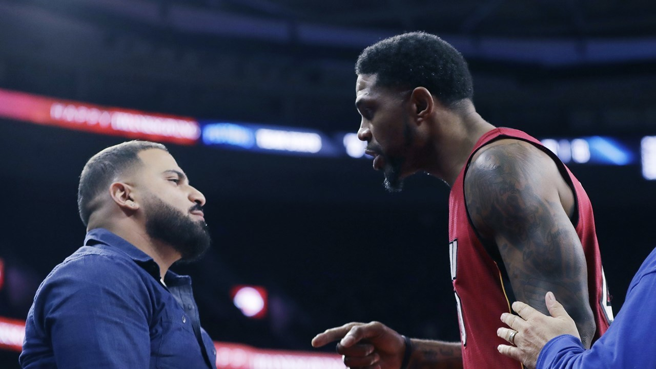 Udonis Haslem Says Lack Of Respect Led To Confrontation