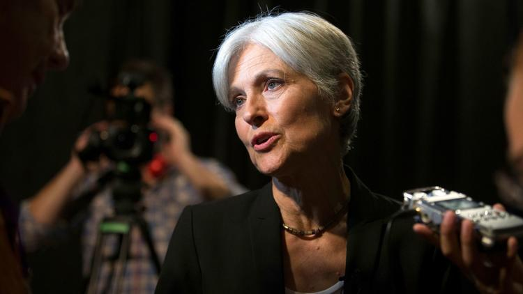 Green Party presidential candidate Jill Stein. None