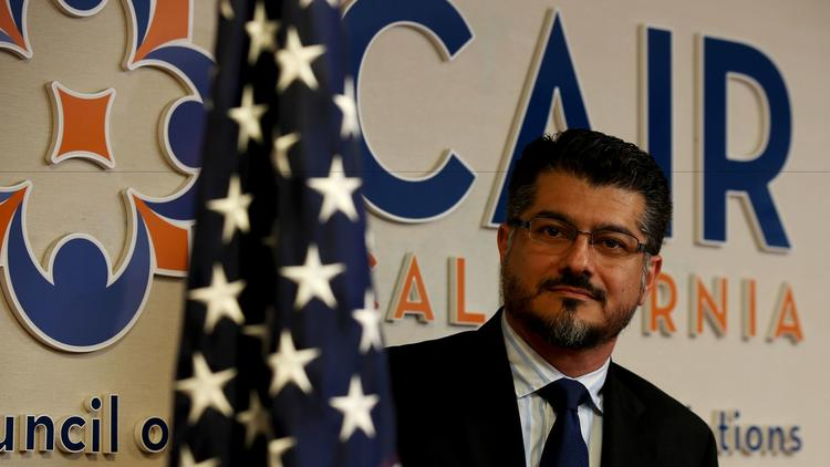 Hussam Ayloush, shown in May, is the Los Angeles director of the Council on American-Islamic Relations, the country's largest Muslim civil liberties organization. (Luis Sinco / Los Angeles Times)